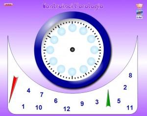 gioco costruisci orologio