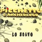 picchetto archeologo scavo