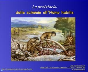 scimmia homo habilis