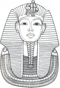 maschera tutankamon